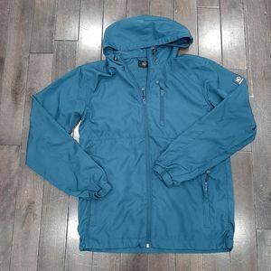 Tentree Men's Blue Windbreaker Size Small